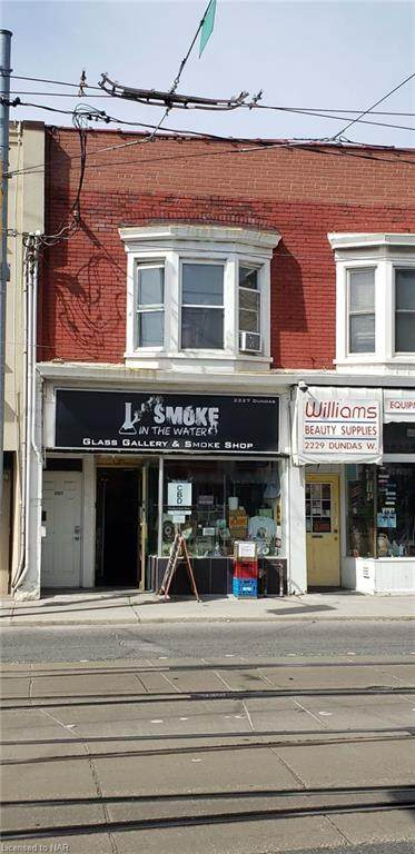 2227 Dundas Street, Toronto, ON M6R 1X6 (MLS #40018247) :: Forest Hill Real Estate Collingwood
