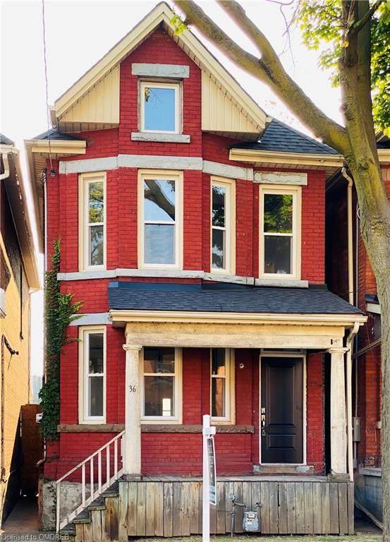 36 Ashley Street, Hamilton, ON L8L 5S6 (MLS #40026593) :: Forest Hill Real Estate Collingwood