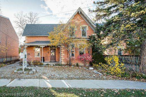 136 St Paul Street, Collingwood, ON L9Y 3P2 (MLS #40044445) :: Forest Hill Real Estate Collingwood