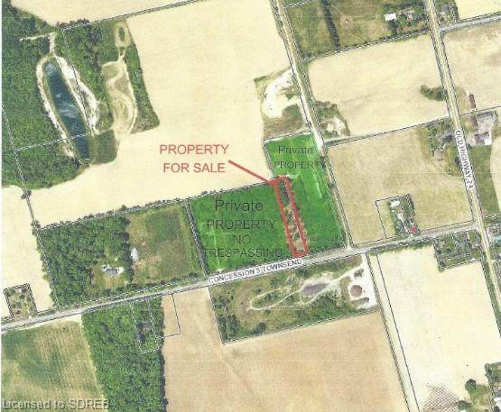 N/A Concession #5 Road, Townsend, ON N0E 1Y0 (MLS #40045119) :: Sutton Group Envelope Real Estate Brokerage Inc.