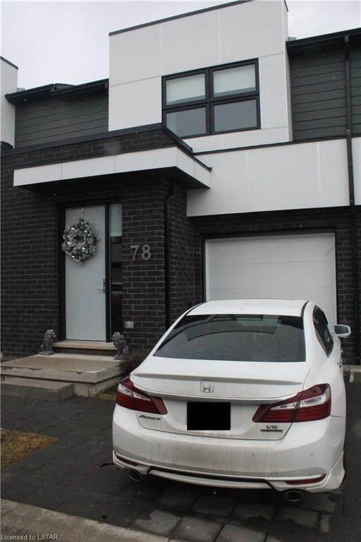 499 Sophia Crescent #78, London, ON N6G 5N9 (MLS #40058673) :: Sutton Group Envelope Real Estate Brokerage Inc.