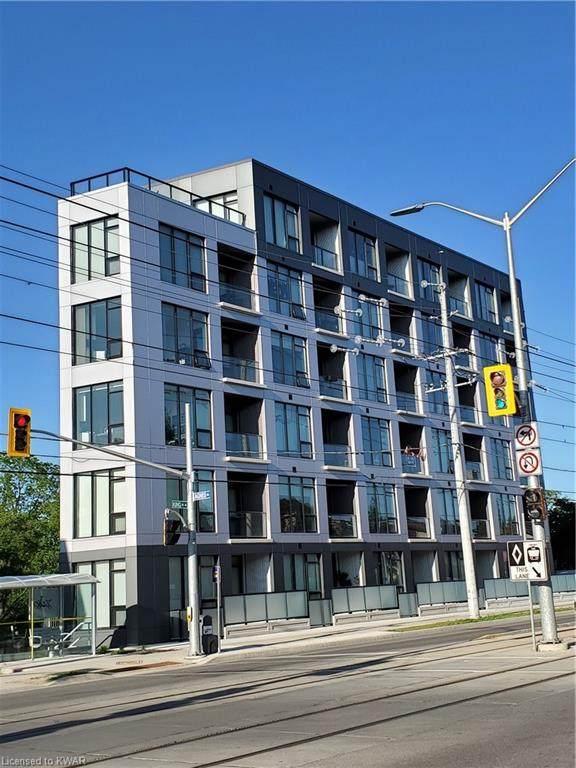690 King Street W #502, Kitchener, ON N2H 5L8 (MLS #40127302) :: Forest Hill Real Estate Collingwood