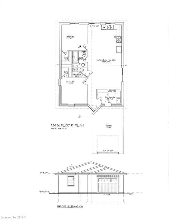 LT2 PT2 William Street, Ailsa Craig, ON N0M 1A0 (MLS #40139787) :: Forest Hill Real Estate Collingwood