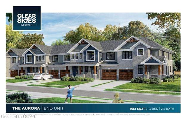 93 Stonefield Lane #7, Ilderton, ON N0M 2A0 (MLS #40146555) :: Envelope Real Estate Brokerage Inc.