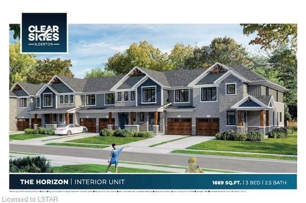 93 Stonefield Lane #8, Ilderton, ON N0M 2A0 (MLS #40146560) :: Envelope Real Estate Brokerage Inc.