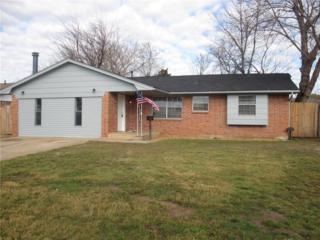 1009 NW 6th Place, Moore, OK 73160 (MLS #755475) :: Richard Jennings Real Estate, LLC