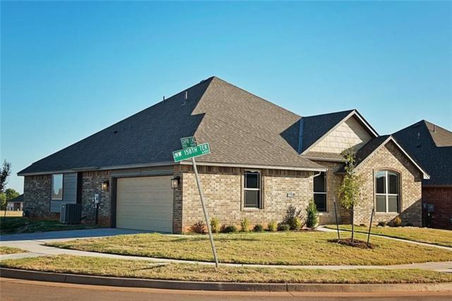 6413 NW 158th Terrace, Edmond, OK 73013 (MLS #750231) :: Richard Jennings Real Estate, LLC