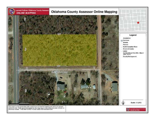 Hiwassee Rd Corners, Nicoma Park, OK 73084 (MLS #758052) :: KING Real Estate Group