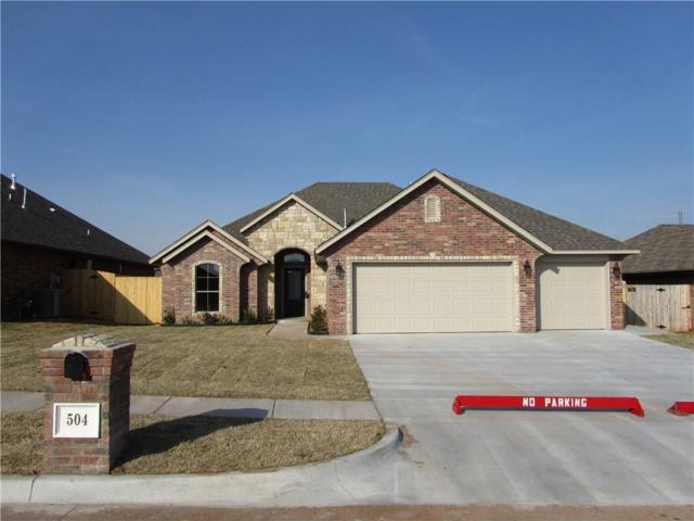 504 Cottonwood Drive, Moore, OK 73160 (MLS #764926) :: Wyatt Poindexter Group