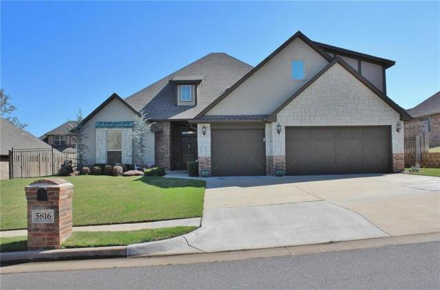 5816 Havenshire Lane, Edmond, OK 73034 (MLS #766364) :: Richard Jennings Real Estate, LLC