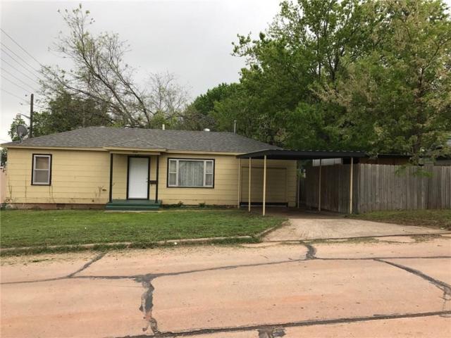 204 E 3rd, Cordell, OK 73632 (MLS #768997) :: Wyatt Poindexter Group