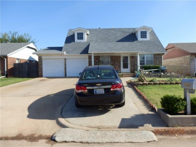 1021 NW 24th, Moore, OK 73160 (MLS #771441) :: Richard Jennings Real Estate, LLC