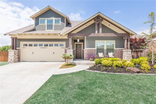 809 Gathering Leaves, Edmond, OK 73034 (MLS #772058) :: Homestead + Co