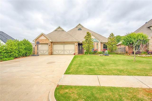 3332 Garden Hill Drive, Edmond, OK 73034 (MLS #773868) :: Erhardt Group at Keller Williams Mulinix OKC