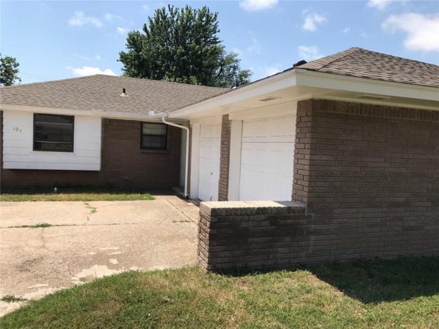 104 Olympic, Moore, OK 73160 (MLS #777843) :: Richard Jennings Real Estate, LLC