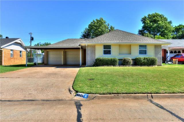 4821 Woodview, Del City, OK 73115 (MLS #778576) :: Richard Jennings Real Estate, LLC