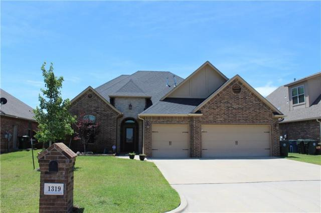 1319 Riverwind Drive, Midwest City, OK 73130 (MLS #778971) :: Richard Jennings Real Estate, LLC