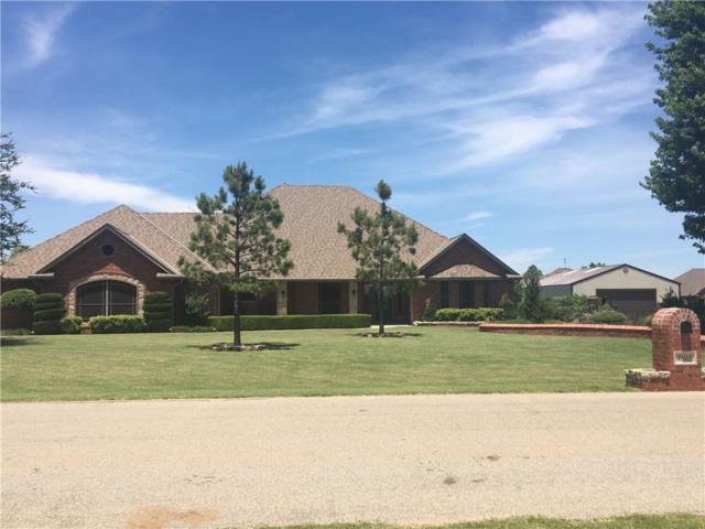 4605 Timber Ridge Road, Tuttle, OK 73089 (MLS #778997) :: Richard Jennings Real Estate, LLC