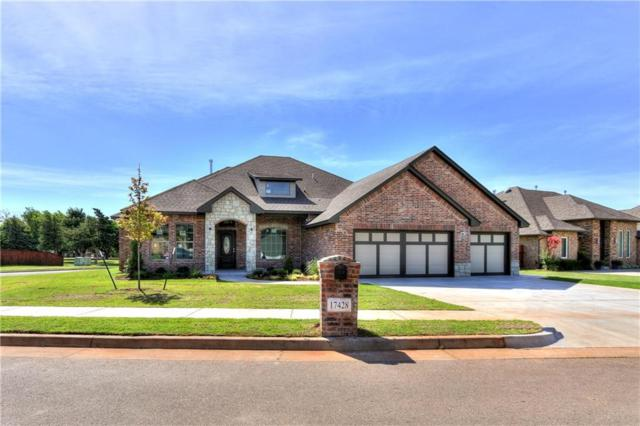 17428 Locust Grove Lane, Edmond, OK 73012 (MLS #779049) :: Richard Jennings Real Estate, LLC