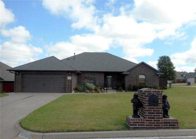 10537 Applegrove Circle, Midwest City, OK 73130 (MLS #779080) :: Richard Jennings Real Estate, LLC