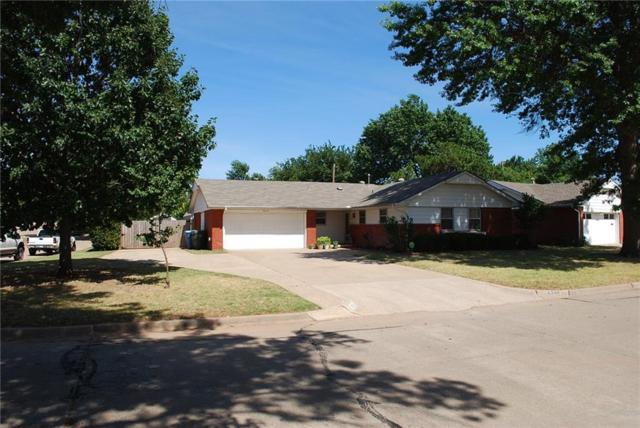 3320 N Peebly, Midwest City, OK 73110 (MLS #779129) :: Richard Jennings Real Estate, LLC