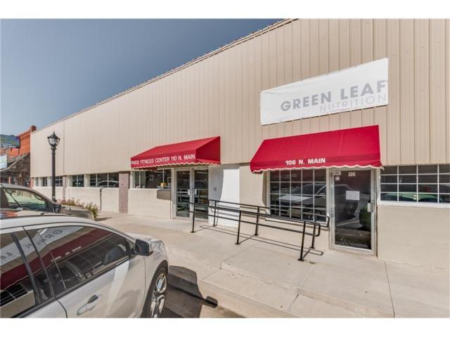 106 N Main, Blanchard, OK 73010 (MLS #779163) :: Richard Jennings Real Estate, LLC