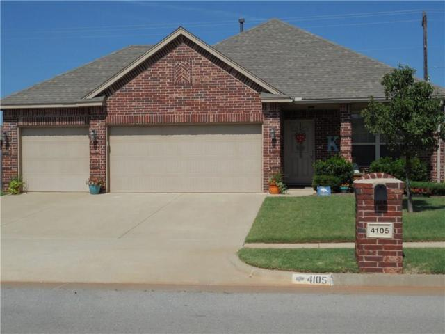 4105 Johnson Farms Drive, Mustang, OK 73064 (MLS #779165) :: Richard Jennings Real Estate, LLC