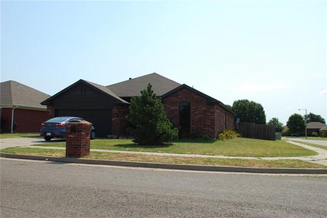 2416 Port Rush Drive, Moore, OK 73160 (MLS #779273) :: Richard Jennings Real Estate, LLC