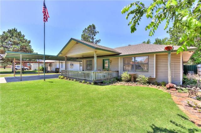 2953 Hillcrest Avenue, Moore, OK 73160 (MLS #779383) :: Richard Jennings Real Estate, LLC