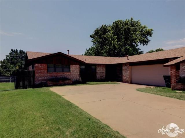 1512 Redstone, Clinton, OK 73601 (MLS #779403) :: Wyatt Poindexter Group