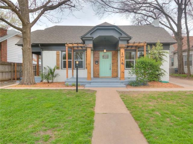2036 NW 19th Street, Oklahoma City, OK 73106 (MLS #779498) :: Wyatt Poindexter Group