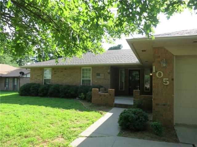 105 Charles Drive, Holdenville, OK 74848 (MLS #780255) :: Wyatt Poindexter Group