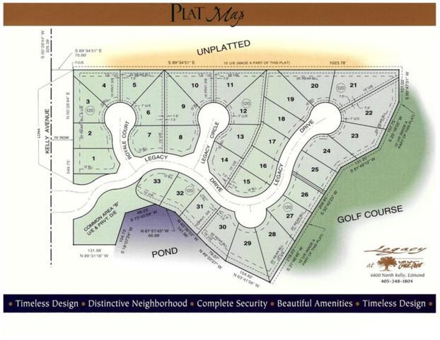 6708 Legacy Circle, Edmond, OK 73025 (MLS #781492) :: Homestead & Co