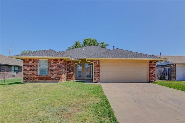 1037 NW 14th Street, Moore, OK 73160 (MLS #781727) :: Richard Jennings Real Estate, LLC