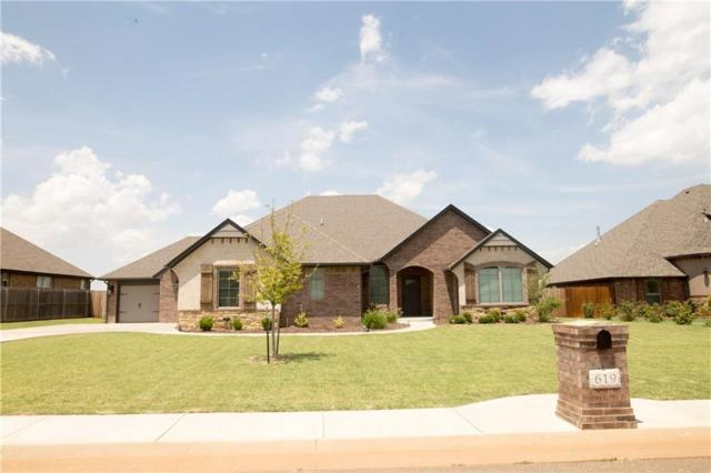 619 Elm Street, Piedmont, OK 73078 (MLS #782254) :: The Professionals Real Estate Group