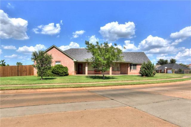 300 S Castlerock Lane, Mustang, OK 73064 (MLS #782277) :: The Professionals Real Estate Group