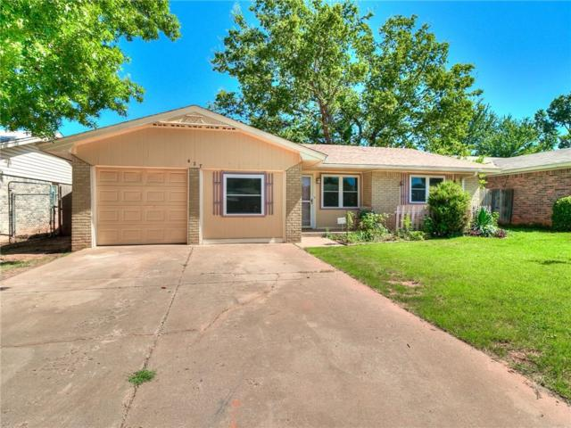 427 W Hillcrest Drive, Mustang, OK 73064 (MLS #782613) :: The Professionals Real Estate Group