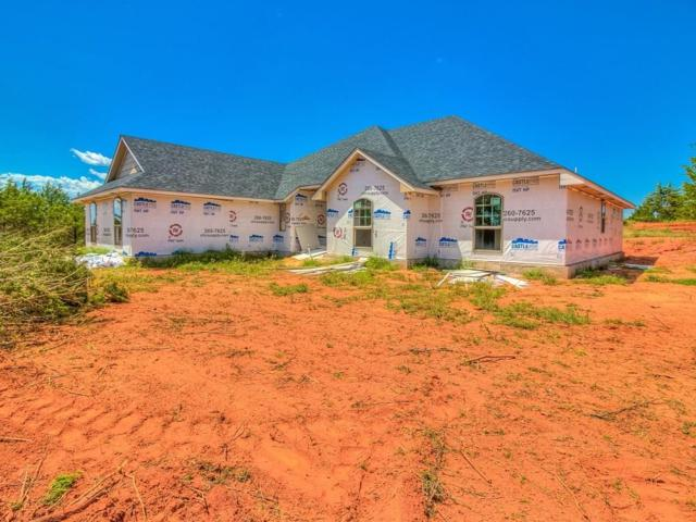 5740 Hillside Drive, Guthrie, OK 73044 (MLS #782816) :: The Professionals Real Estate Group