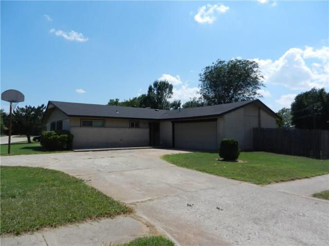 1809 Fox Avenue, Moore, OK 73160 (MLS #782861) :: The Professionals Real Estate Group