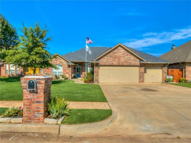 409 N Chisholm Trail Way, Mustang, OK 73064 (MLS #782939) :: The Professionals Real Estate Group