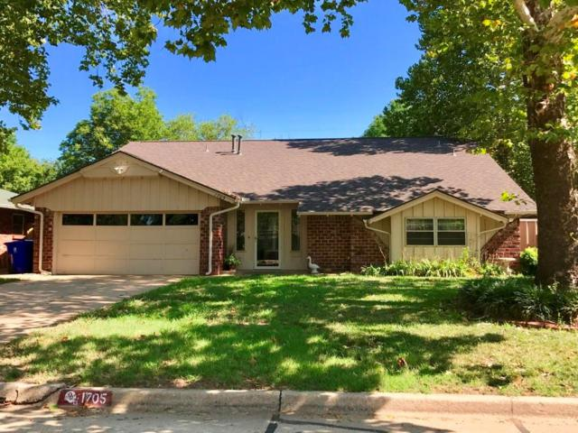 1705 Canterbury Street, Norman, OK 73069 (MLS #783136) :: The Professionals Real Estate Group