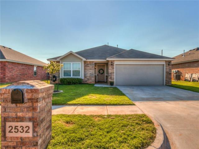 2532 Canyon Creek Drive, Yukon, OK 73099 (MLS #783213) :: The Professionals Real Estate Group