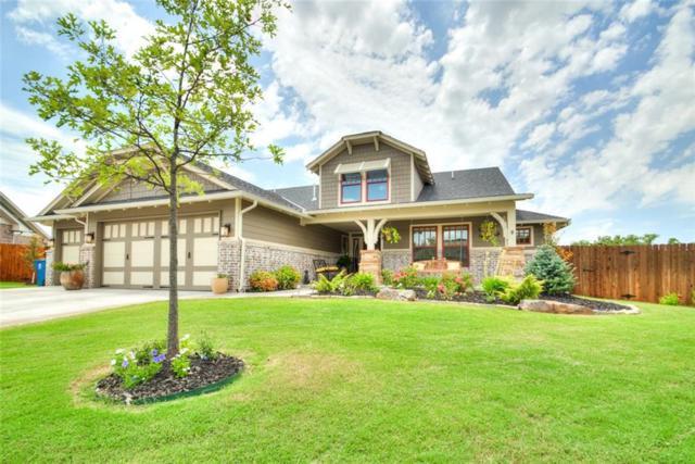801 Gathering Leaves Way, Edmond, OK 73034 (MLS #783685) :: Homestead & Co