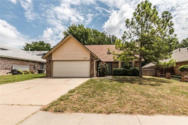 2636 Amy Court, Moore, OK 73160 (MLS #784254) :: Richard Jennings Real Estate, LLC