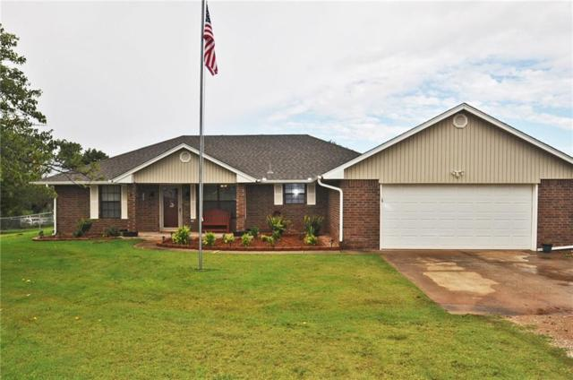 1044 County Street 2973, Blanchard, OK 73010 (MLS #785772) :: Richard Jennings Real Estate, LLC