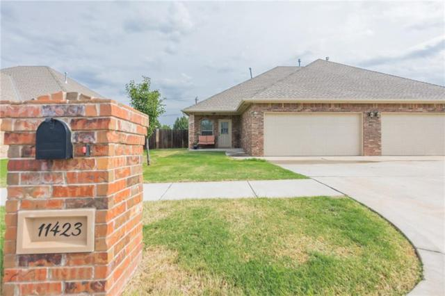 11423 NW 121st Place, Yukon, OK 73099 (MLS #785989) :: Erhardt Group at Keller Williams Mulinix OKC
