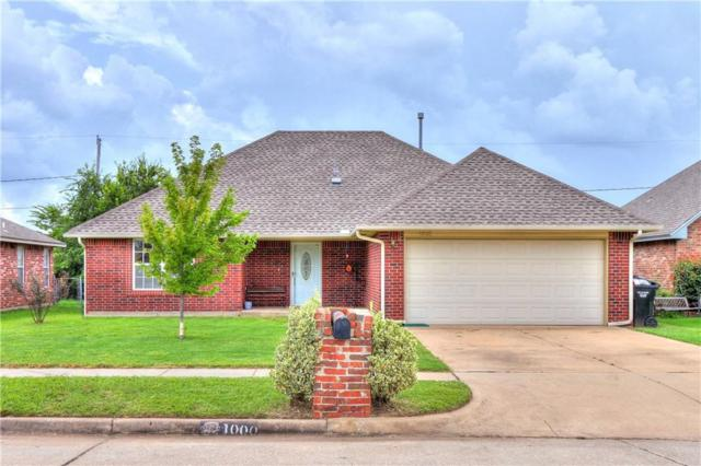 1000 N Windermere Drive, Moore, OK 73160 (MLS #786531) :: Richard Jennings Real Estate, LLC