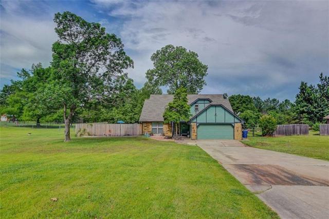1073 Willow Drive, Choctaw, OK 73020 (MLS #786657) :: Richard Jennings Real Estate, LLC