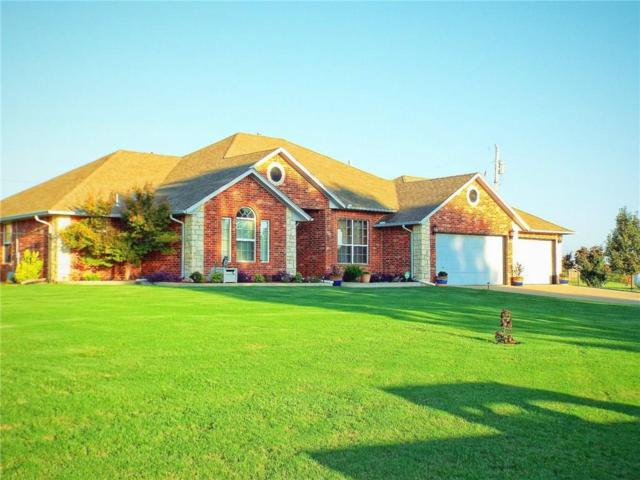12100 Quail Ridge Circle, Edmond, OK 73034 (MLS #787152) :: Homestead & Co