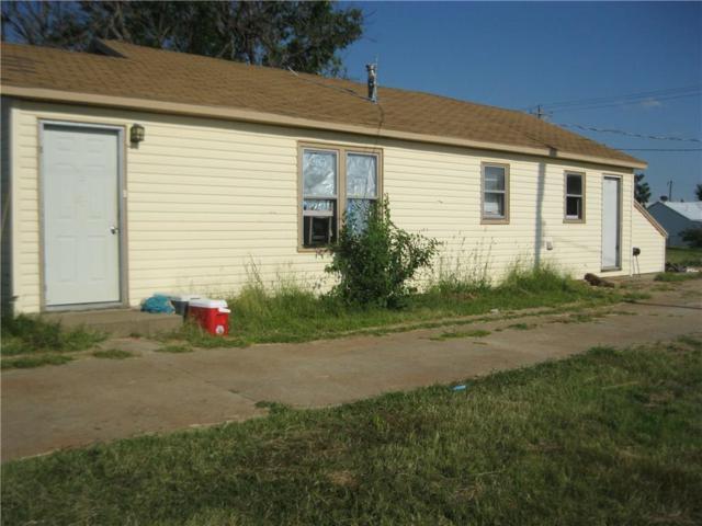 106 E 2nd Street, Leedey, OK 73654 (MLS #787247) :: Wyatt Poindexter Group